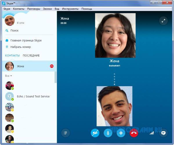 Skype Portable русская версия