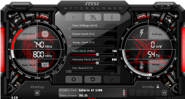 MSI Afterburner русская версия для компьютера