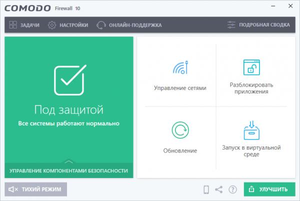 Comodo Firewall русская версия