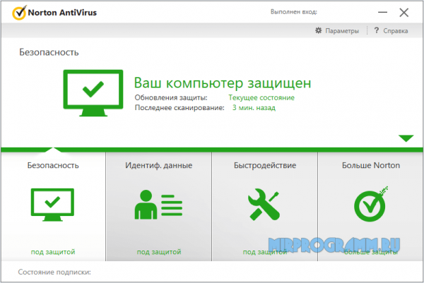 Norton Antivirus русская версия