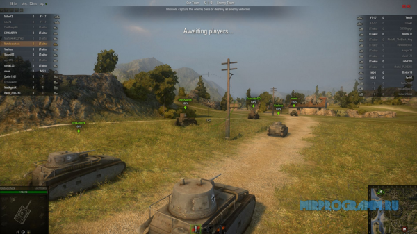World of Tanks на пк