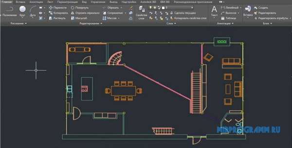AutoCAD для windows