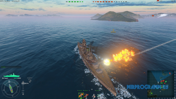 World of Warships для компьютера