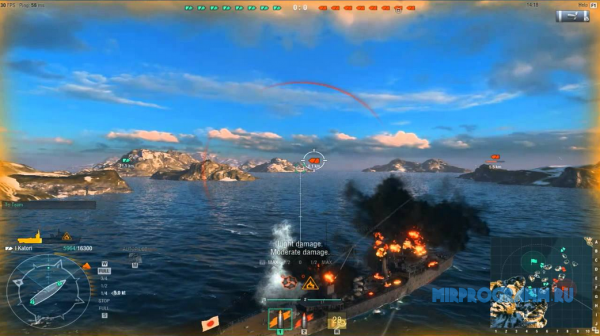 World of Warships на пк