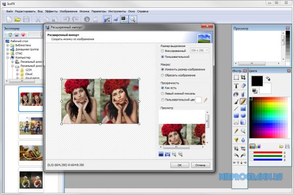 IcoFX русская версия программы