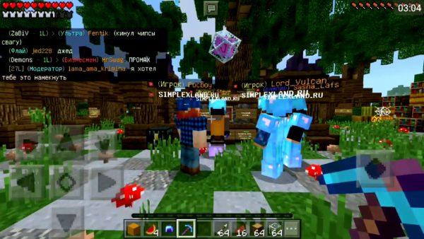Minecraft Server русская версия