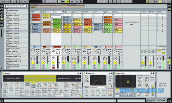 Ableton Live для windows