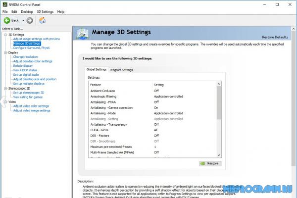 NVIDIA Forceware WHQL для windows
