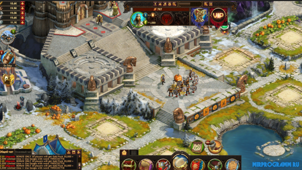 Vikings War of Clans русская версия игры