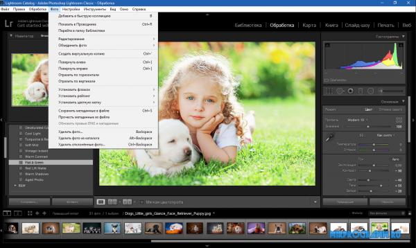 Adobe Photoshop Lightroom на русском языке
