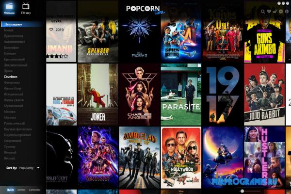 Popcorn Time для Windows
