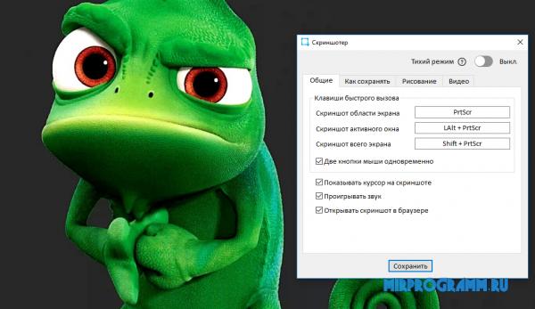 Скриншотер на ПК