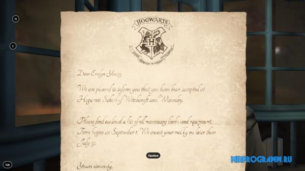 Harry Potter Hogwarts Mystery на компьютер