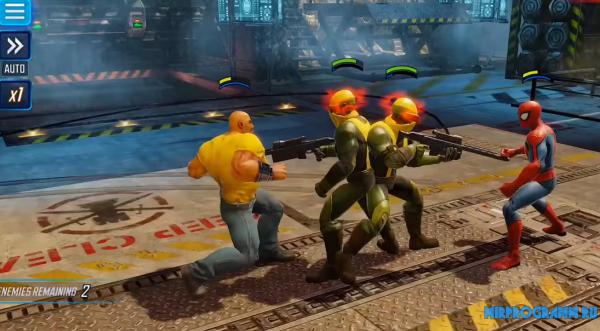 MARVEL Strike Force новая версия