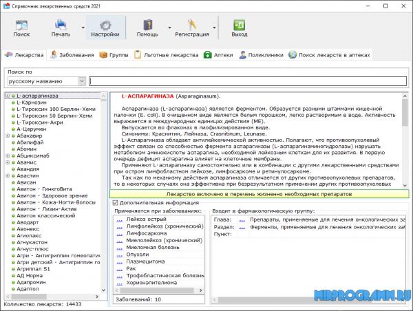 Справочник лекарственных средств на русском языке