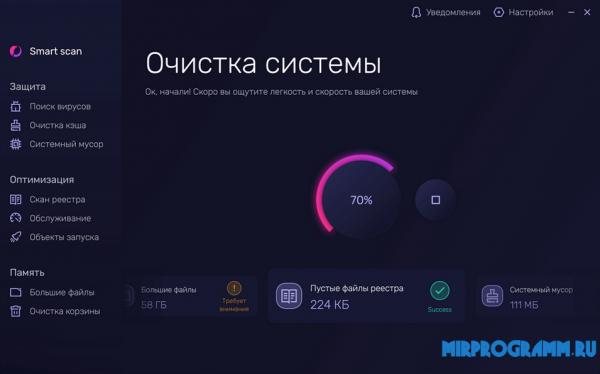 Telamon Cleaner русская версия
